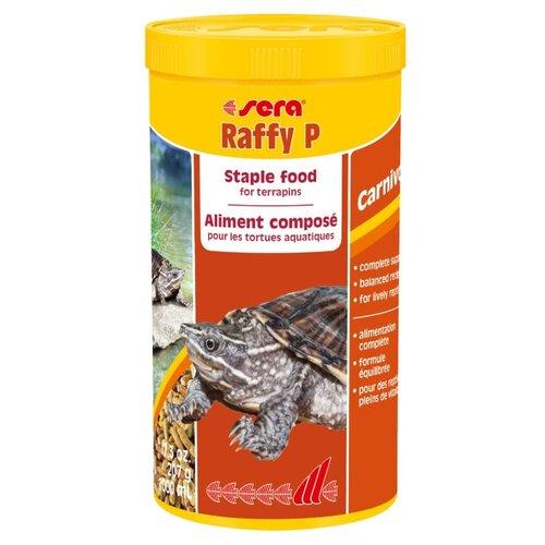 Сухой корм для рептилий Sera Raffy P 1000 мл 207 г