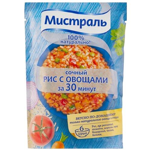 Мистраль Сочный рис с овощами 230 г