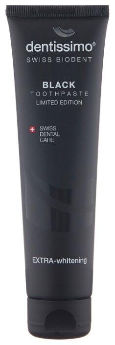 Зубная паста Dentissimo Black Экстра отбеливающая