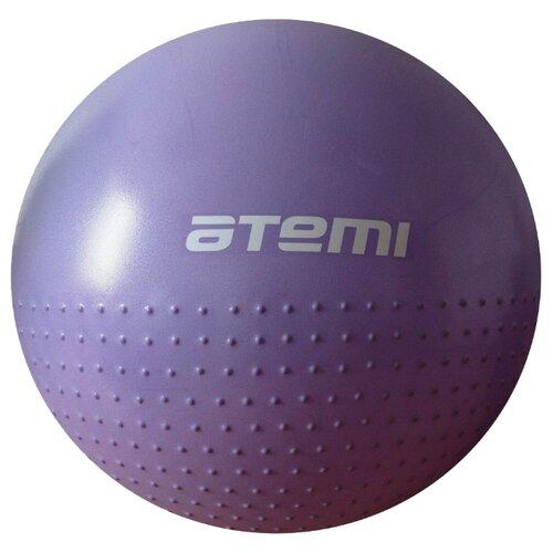 Фитбол ATEMI AGB-05-75, 75 см фиолетовый фитбол atemi agb 05 75 75 см фиолетовый