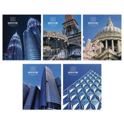 Купить ArtSpace Упаковка тетрадей Путешествия. Architecture Т48к_24324, 10 шт./5 дизайнов, клетка, 48 л., Тетради