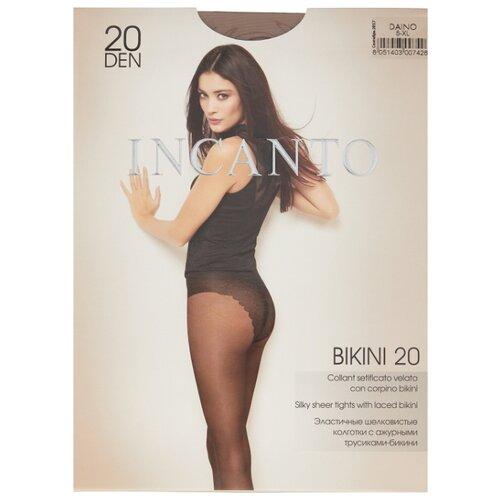 цена Колготки Incanto Bikini 20 den, размер 5, daino (коричневый) онлайн в 2017 году