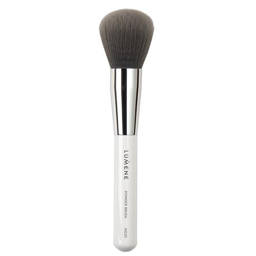 Кисть Lumene Nordic Chic Powder No. 01 белый/серебристый