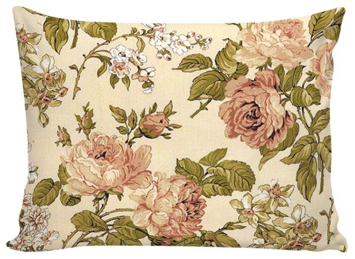Комплект наволочек Сказка Прохоровская роза на молнии, перкаль 50 х 70 см
