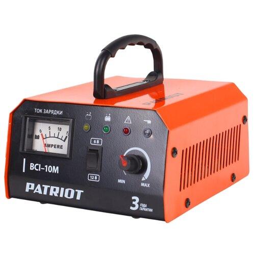 Зарядное устройство PATRIOT BCI-10M черный/оранжевый зарядное устройство patriot gl 402 830201150