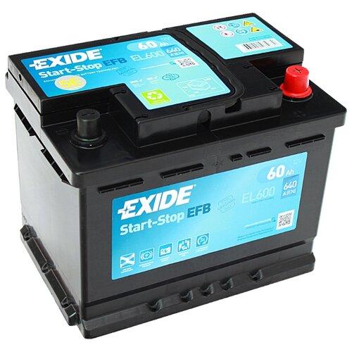 цена на Автомобильный аккумулятор Exide Start-Stop EFB EL600
