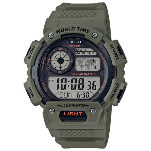 Наручные часы CASIO AE-1400WH-3A casio часы casio ae 2100w 4a коллекция digital