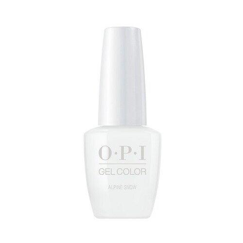 Гель-лак для ногтей OPI Classics GelColor, 15 мл, оттенок Alpine Snow лак opi nail lacquer classics 15 мл оттенок she's a bad muffuletta