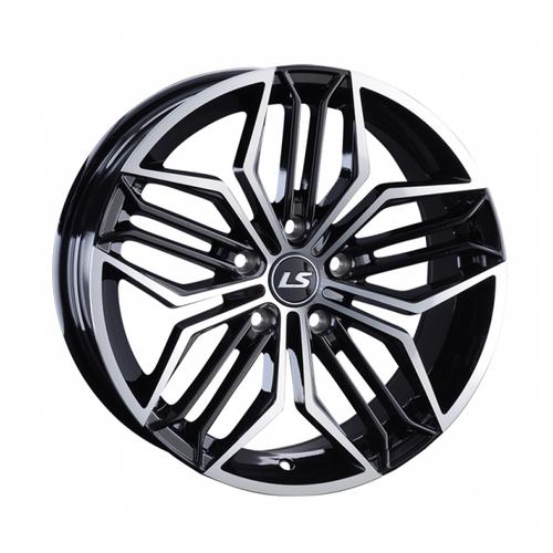 Фото - Колесный диск LS Wheels LS1001 8х17/5х114.3 D67.1 ET40, BKF колесный диск ls wheels ls570 7x16 5x114 3 d73 1 et40 hp