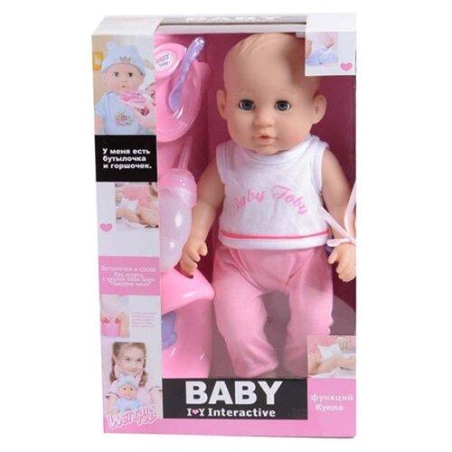 Фото - Интерактивный пупс Shantou Chenghai Wei Tai Toy Baby Toby, 30805-4 интерактивный пупс joy toy маленькая ляля 058 19r