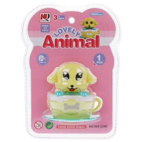 Купить Заводная игрушка Наша Игрушка Собачка в чашке (333-124E), Наша игрушка, Развивающие игрушки