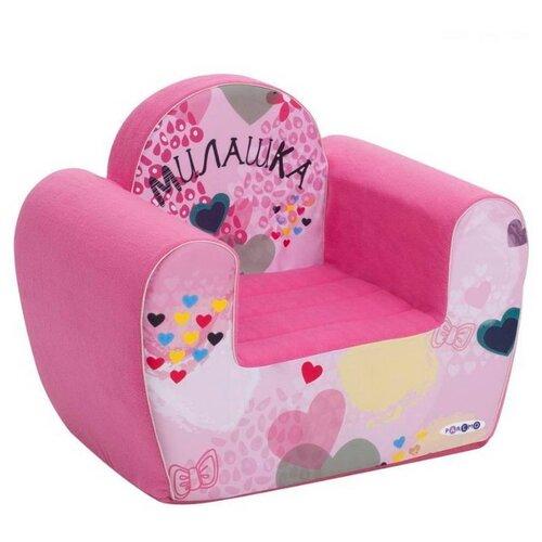Классическое кресло PAREMO детское PCR317 размер: 54х38 см, обивка: ткань, цвет: Инста-малыш Милашка paremo игровое кресло paremo инста малыш принцесса мия