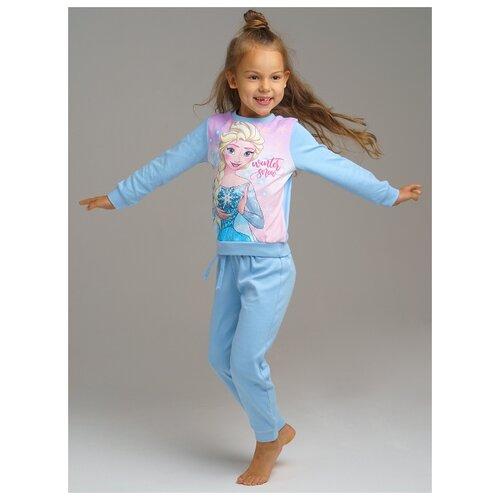 Купить Пижама playToday размер 98, голубой, Домашняя одежда