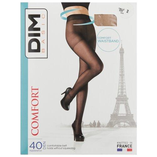 цена Колготки DIM Basic Comfort 40 den, размер 2, телесный (бежевый) онлайн в 2017 году