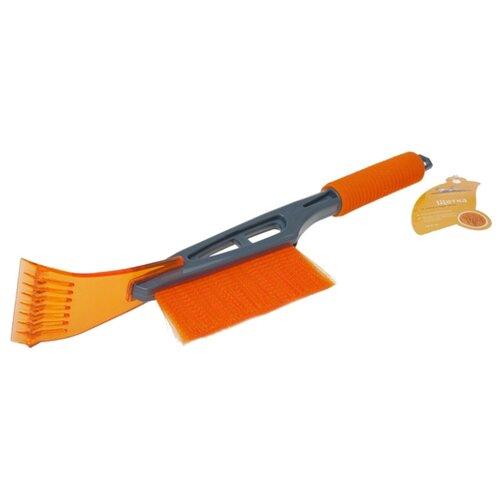 Фото - Щетка-скребок Airline AB-R-09 оранжевый щетка скребок fiskars snowxpert 1019352 белый оранжевый