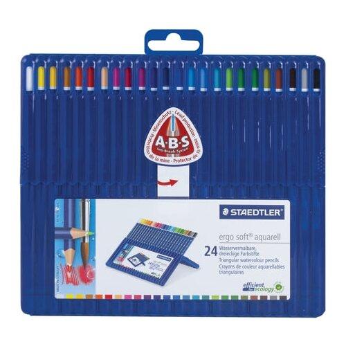 Купить Staedtler Карандаши цветные акварельные Ergosoft, 24 цвета (156 SB24), Цветные карандаши