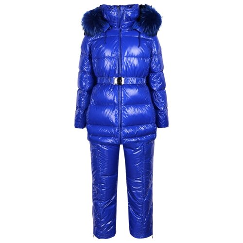 Купить Комплект с полукомбинезоном Manudieci 1937403 / 1937450 размер 128, синий, Комплекты верхней одежды