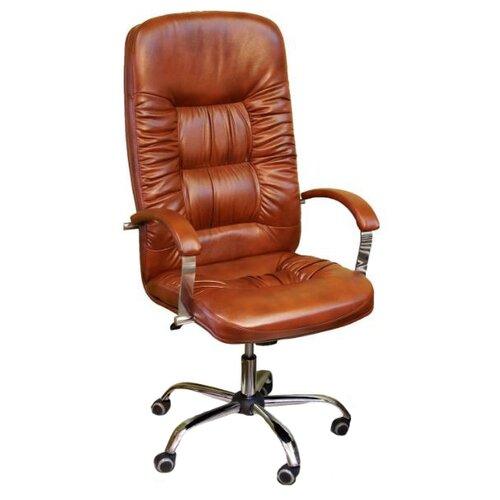 цена на Компьютерное кресло Креслов Болеро КВ-03-131112, обивка: искусственная кожа, цвет: Виски
