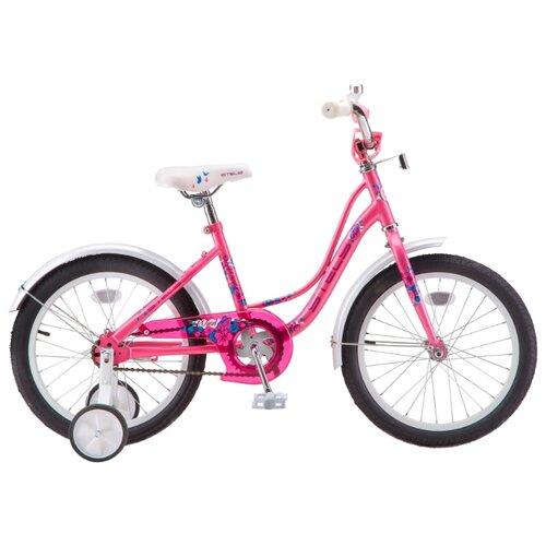 цена на Детский велосипед STELS Wind 14 Z020 (2019) розовый 9.5