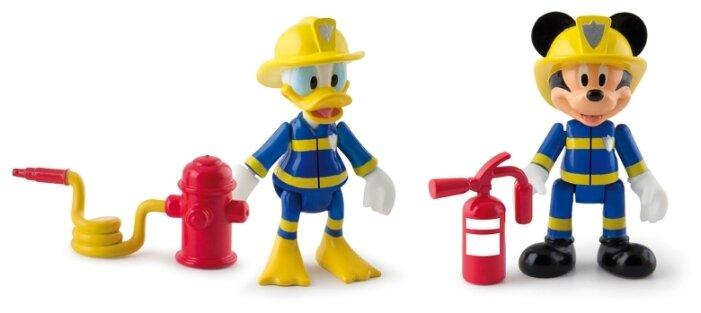 Фигурки IMC Toys Микки и весёлые гонки: Пожарные 181908