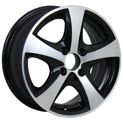 Фото - Колесный диск ALCASTA M49 6x14/4x98 D58.6 ET35 BKF колесный диск alcasta m36 6 5x16 4x98 d58 6 et38 bkf