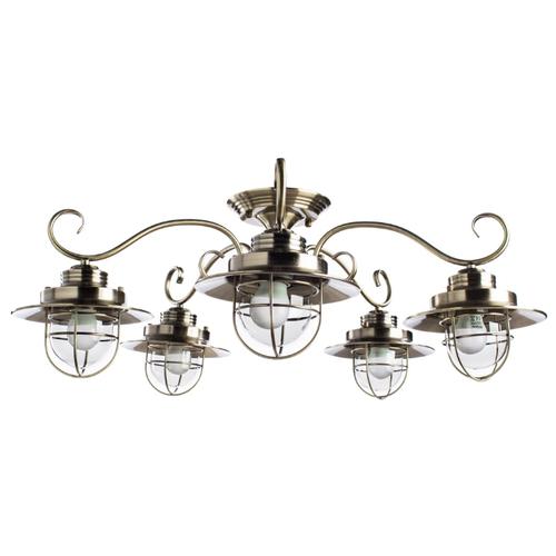Люстра Arte Lamp Lanterna A4579PL-5AB, E27, 300 Вт люстра arte lamp barbara a6066pl 5ab e27 300 вт