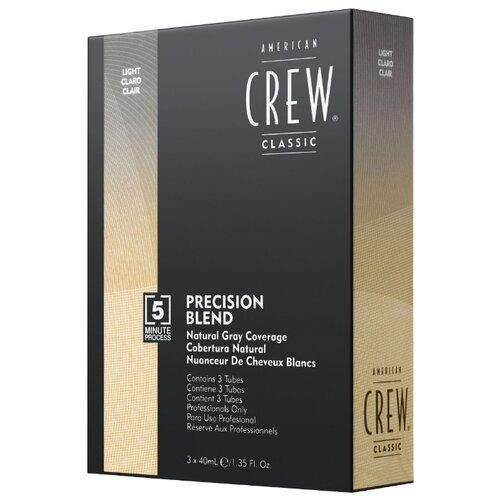 American Crew Precision Blend краска-камуфляж для седых волос, 7/8 блонд