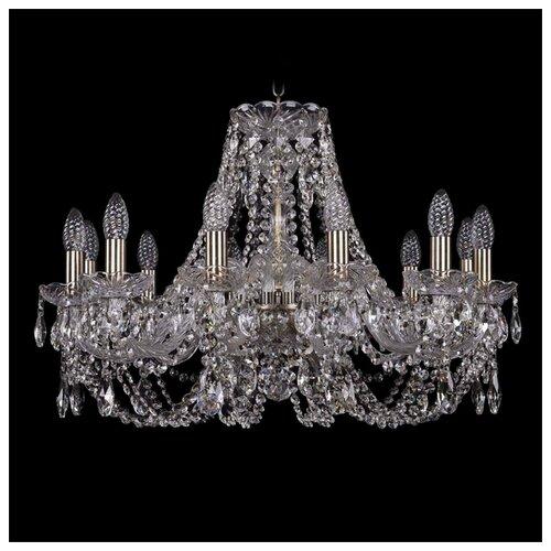Люстра Bohemia Ivele Crystal 1406 1406/12/240/Pa, E14, 480 Вт люстра bohemia ivele crystal 1406 1406 12 300 pa