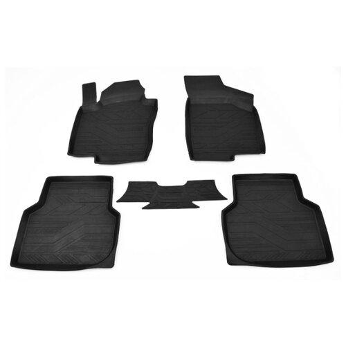 Комплект ковриков AVD Tuning ADRPLR227 Volkswagen Jetta 5 шт. черный комплект ковриков avd tuning adrplr016 chevrolet captiva 4 шт черный