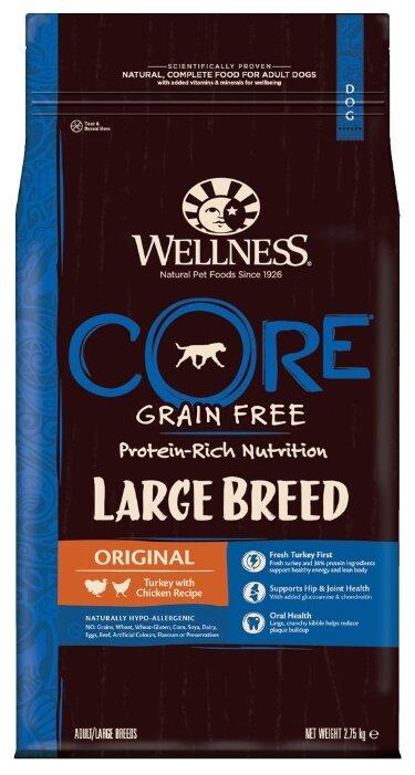 Корм для собак Wellness Core Large breed Original