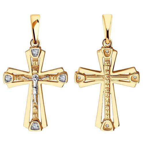 Diamant Подвеска из золота с фианитами 51-131-00434-1