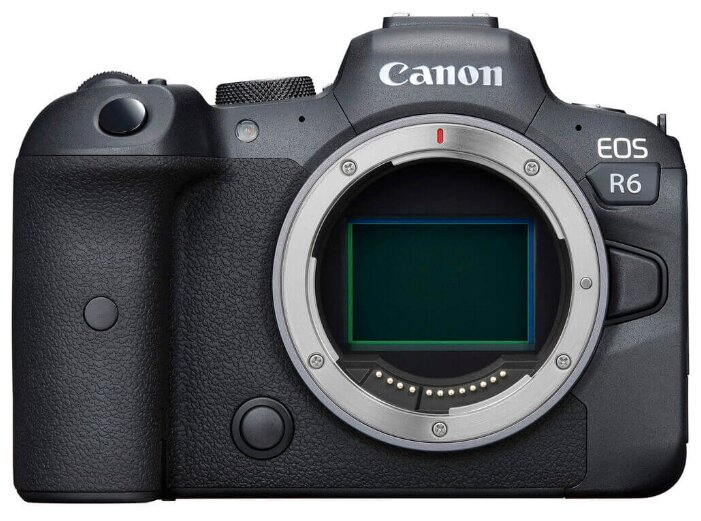 Фотоаппарат Canon EOS R6 Body черный фото 1