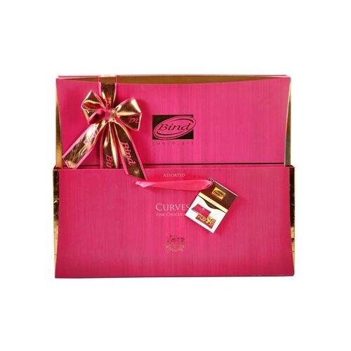 Набор конфет Bind Экслюзив розовый 320 г розовый