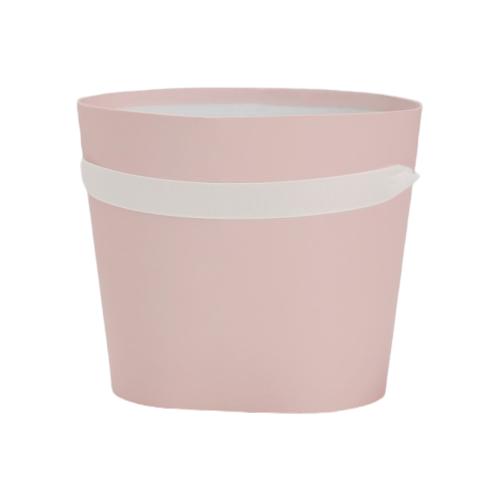 Коробка подарочная Yiwu Youda Import and Export для цветов 18 х 16 х 14 см розовый