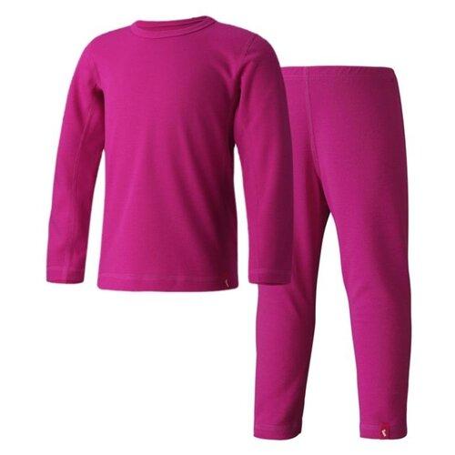 Комплект одежды Reima размер 90, фуксия комплект одежды reima размер 122 melange grey