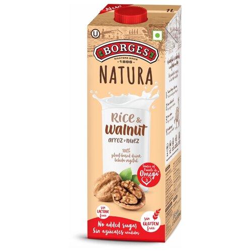 Рисовый напиток Borges Natura Рис и грецкий орех 1 л рис л нацисты предостережение истории