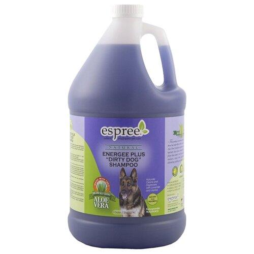 Шампунь Espree Energee Plus «Durty Dog» Shampoo Ароматный гранат для сильнозагрязненной шерсти собак и кошек 3790 мл шампунь espree energee plus durty dog shampoo ароматный гранат для сильнозагрязненной шерсти собак и кошек 3790 мл