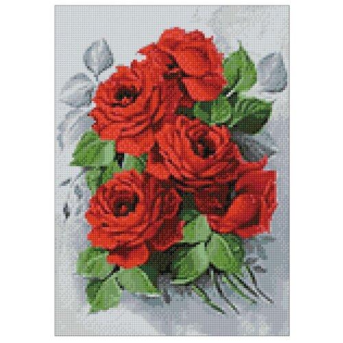 Купить Гранни Набор алмазной вышивки Изысканные розы (ag309) 27х38 см, Алмазная вышивка