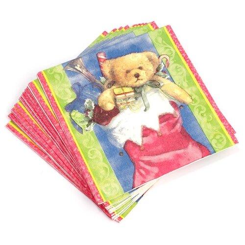 Набор салфеток для декупажа Арт Узор TBY-269, 33х33см