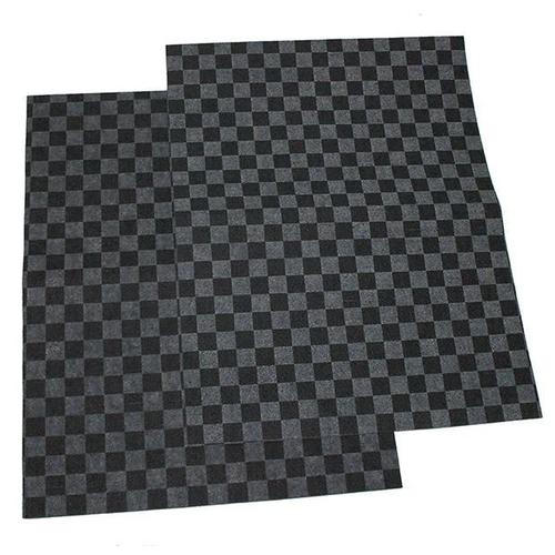 Комплект ковриков Dollex KSV-5038 2 шт. черный/серый