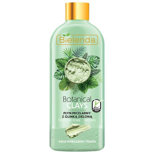 Фото - Bielenda веганская мицеллярная вода с зелёной глиной Botanical Clays, 500 мл bielenda bikini кокосовое