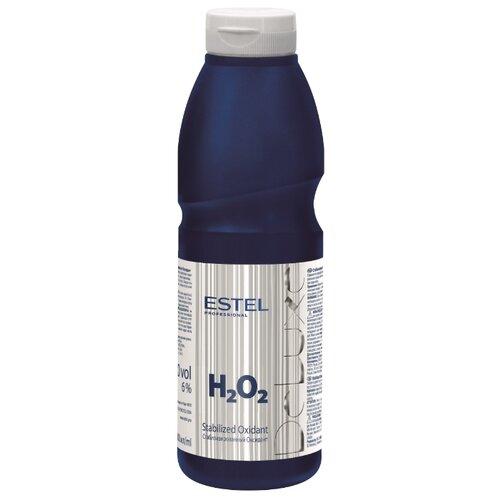 Estel Professional De Luxe оксидант стабилизированный 6%, 500 мл