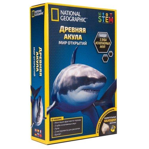 Купить Набор для раскопок National Geographic Древняя акула, Наборы для исследований