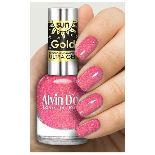 Лак Alvin Dor Sun Gold, 12 мл, оттенок 6404