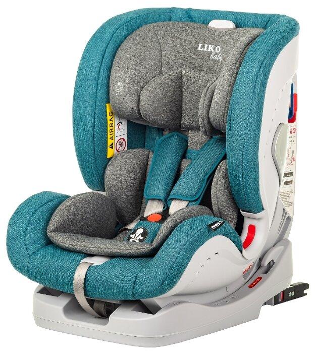 Автокресло группа 0/1/2/3 (до 36 кг) Liko Baby Sprinter Isofix