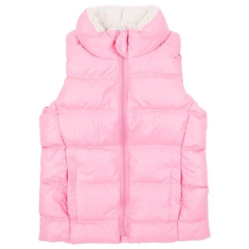 Купить Жилет Fun time SS2018023 размер 104, розовый, Куртки и пуховики