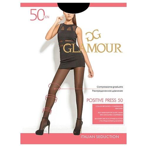 Колготки Glamour Positive Press 50 den, размер 2-S, neroКолготки и чулки<br>