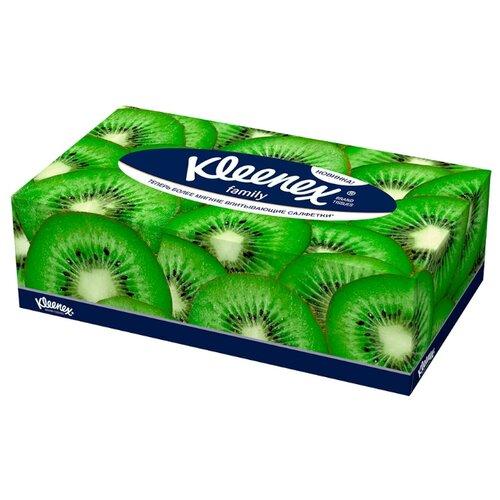 цена Салфетки Kleenex Family, 150 шт. онлайн в 2017 году