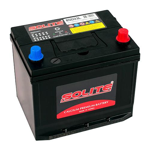 Автомобильный аккумулятор Solite 85D23L BH