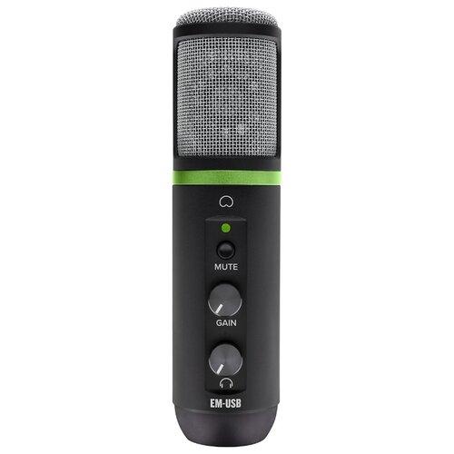 Микрофон Mackie EM-USB черный недорого
